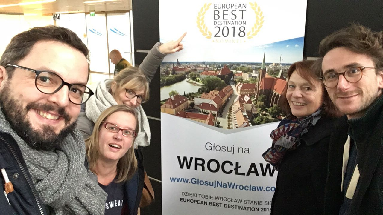 Welcome in Wroclaw